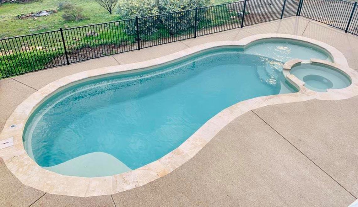Leisure Pools Allure Diamond Sand