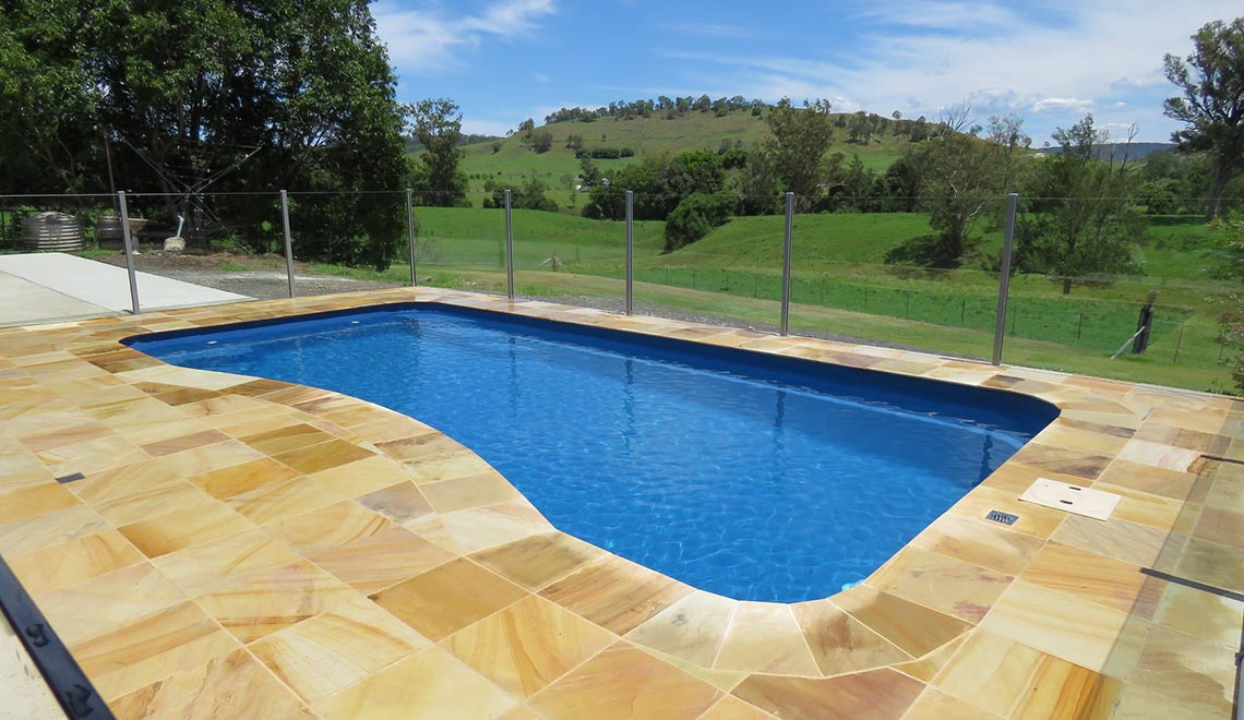 Leisure Pools Morrocan Sapphire Blue